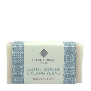 Exotic Wood & Ylang Soap 100g