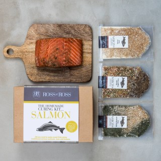 Homemade Salmon Curing Kit .. New