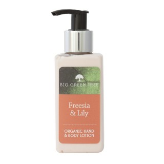 Freesia & Lily Organic Hand and Body Lotion 150ml