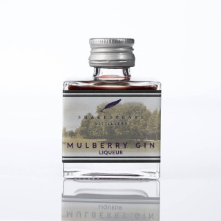 Shakespeare Distillery - Mulberry Gin Liqueur 5cl Miniature