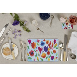 Tablemats - Set Of 4 - Inkflowers
