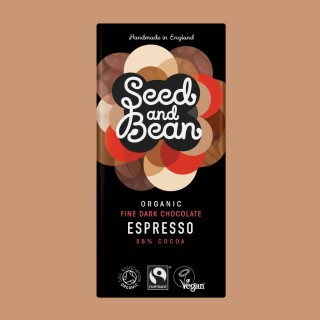 Organic & Fairtrade 58% Espresso 85g Bar