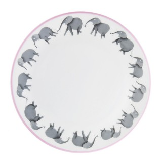 Circus Elephant Plate