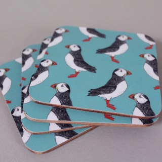 Puffin Billy Coaster (set Of 4)