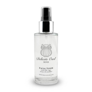 Fusion Rose Toner (with Tilia, Sage, Lettuce & Cucumber Extracts)