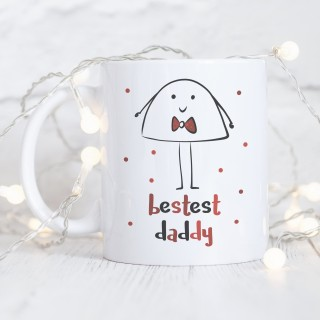 Bestest Daddy Ceramic Mug