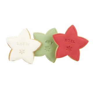 Christmas star biscuits CH002