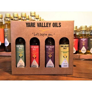 Gift/selection box of infused oils 6x 4x100ml packs