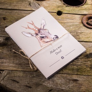 Make A Note Deer A5 Exercise Book Set