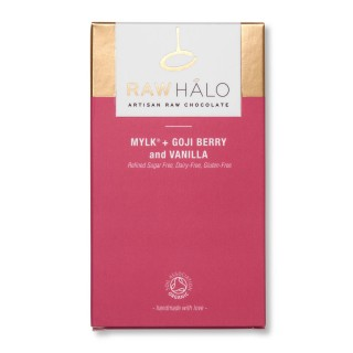 Mylk, Goji Berry & Vanilla - 35g Vegan Chocolate Bar