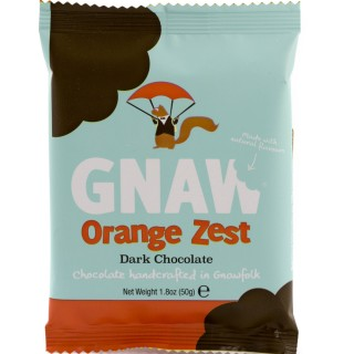 Gnaw Orange Zest Mini Bar 50g