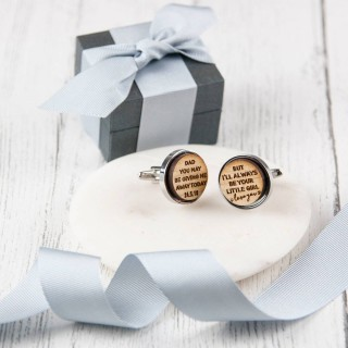Dad Wedding Cufflinks
