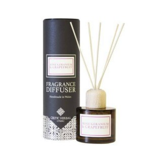 Rose Geranium & Grapefruit Reed Diffuser 100ml