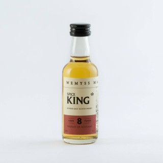 Wemyss Malts Spice King 5cl 8yo 40% Abv