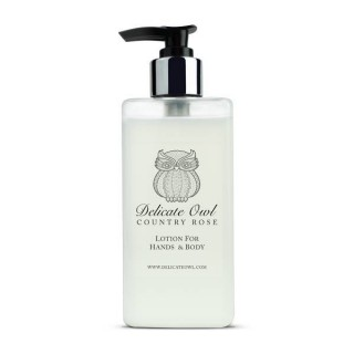 Country Cottage Rose Lotion For Hands & Body