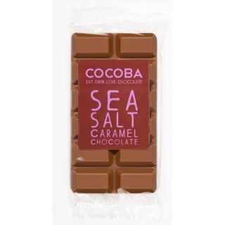 Mini Chocolate Bar Sea Salt Caramel