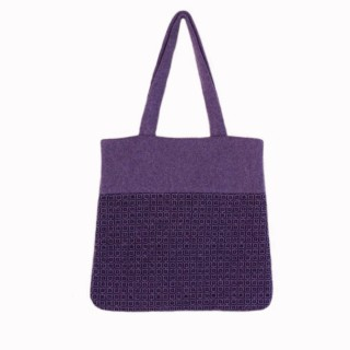 Purple Tile Tote bag