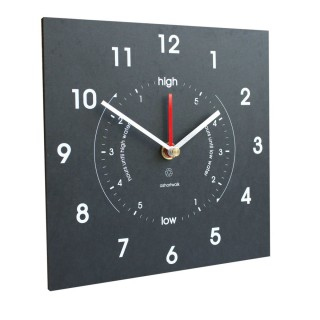 Eco Recycled Time & Tide Clock