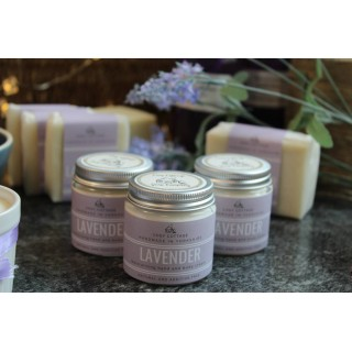 Handbag/travel Size Vegan Lavender Coconut Oil Hand And Body Cream