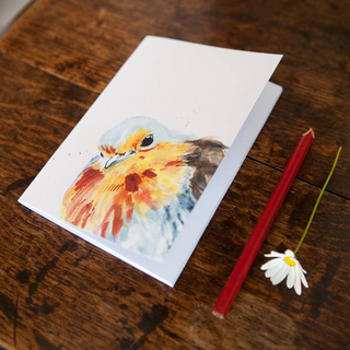 Inky Robin Eco-friendly A6 Notebook