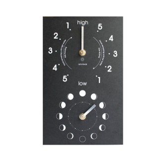 Eco Recycled Moon & Tide Clock