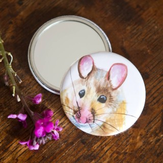 Inky Mouse Pocket Mirror
