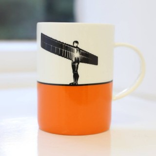 Angel Of The North Bone China Mug