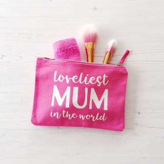Loveliest Mum Make Up Bag