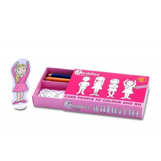 Carddies Ballet Card People Colour and Play Set