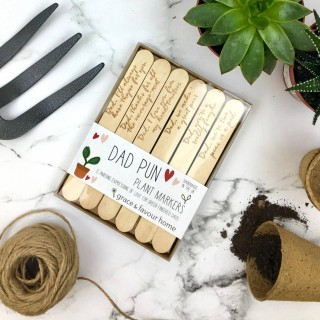 Funny Plant Markers For Dads