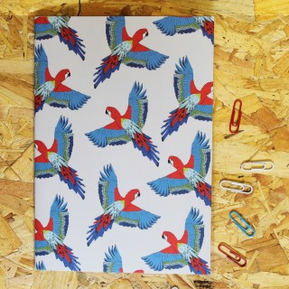 Majestic Macaw Notebook