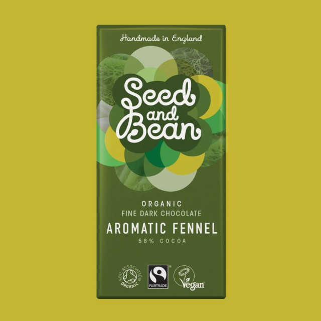 Organic & Fairtrade 58% Aromatic Fennel 85g Bar