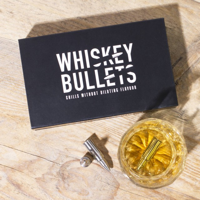 Whiskey Bullets Ice Blocks