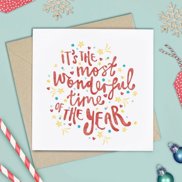 Most Wonderful Time! Christmas Card