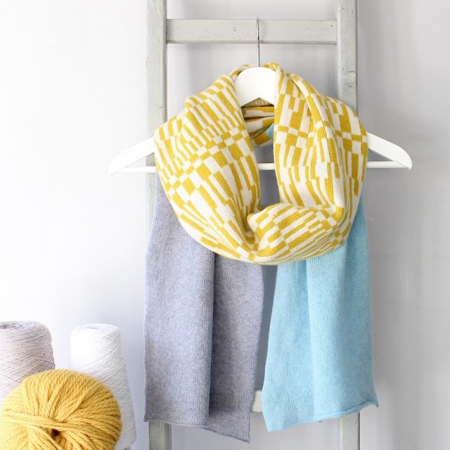 Coast Knitted Lambswool Scarf