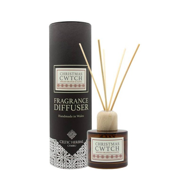 Reed Diffuser With Spiced Orange & Clove