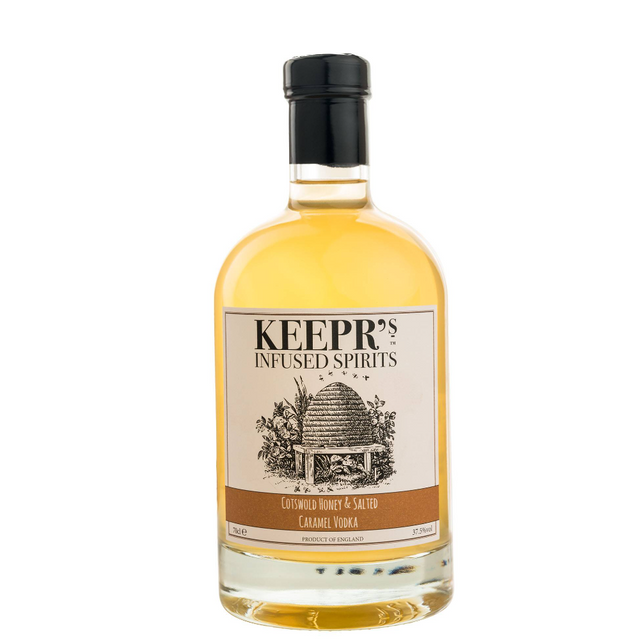 Keepr's Salted Caramel Vodka - Front
