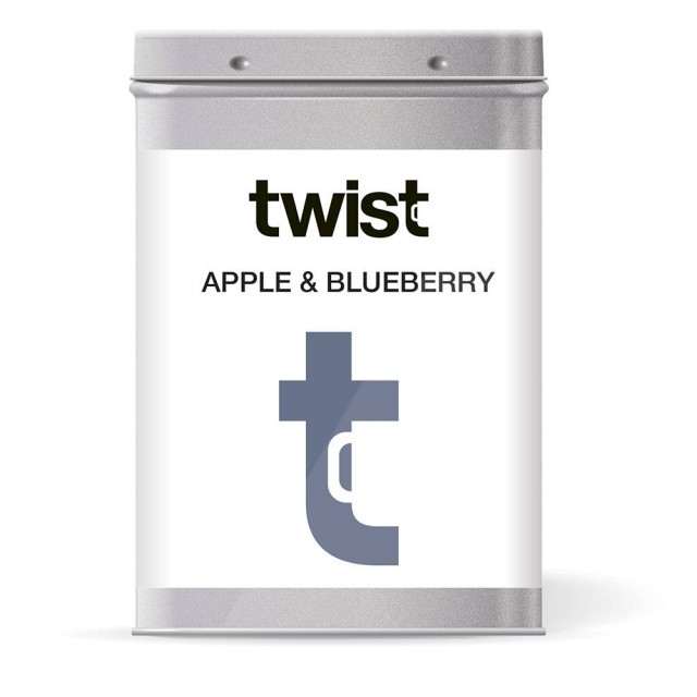 Apple and Blueberry