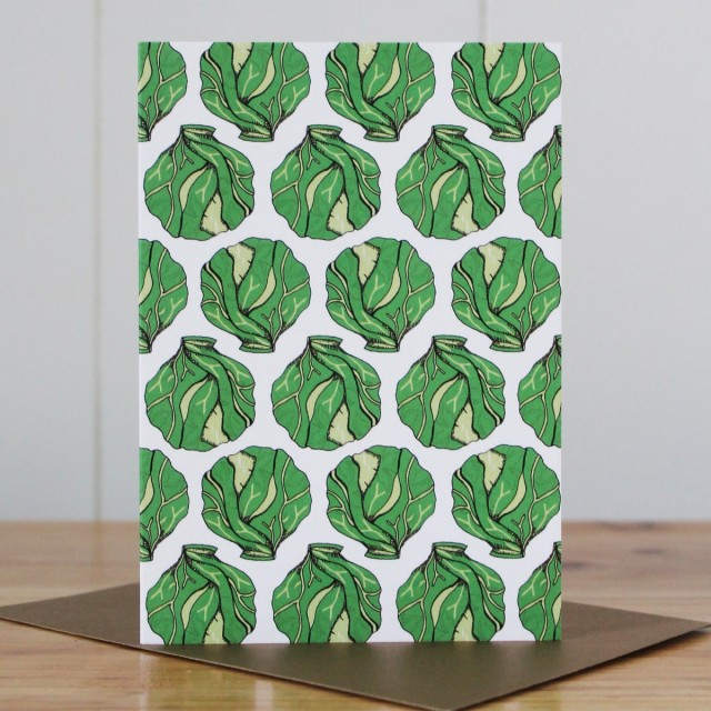 Christmas Sprouts Card