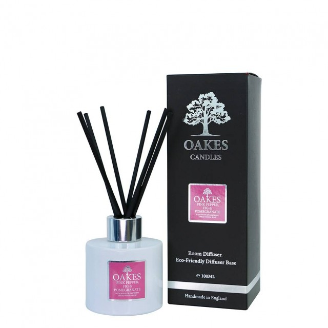 100ml Diffuser - Pink Pepper, Fig & Pomegranate