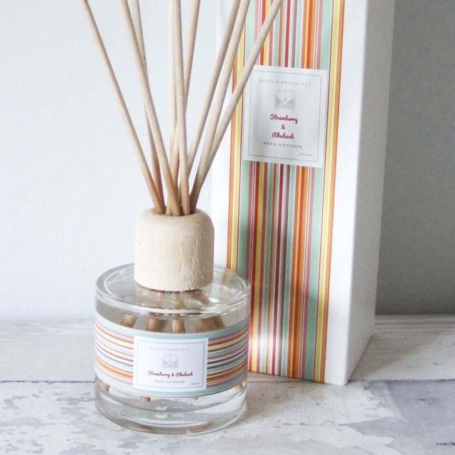 Strawberry & Rhubarb Classic Reed Diffuser