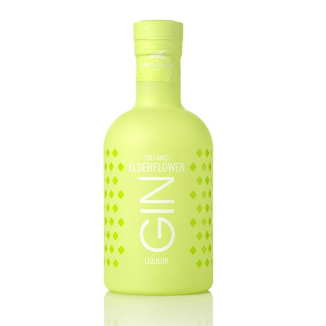 The Lakes Elderflower Gin Liqueur (70cl, 25% Abv)