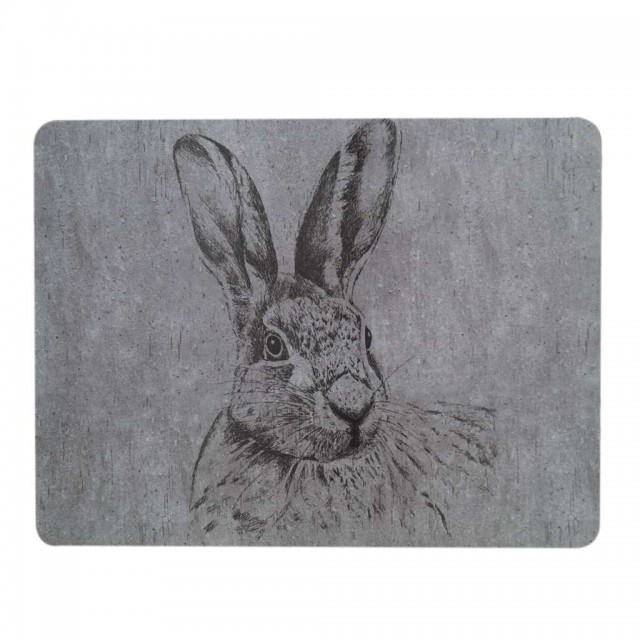 Placemat: Hare