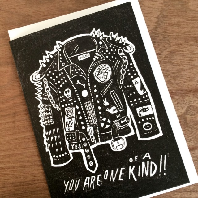A6 Greetings Card 'you Are One Of A Kind'