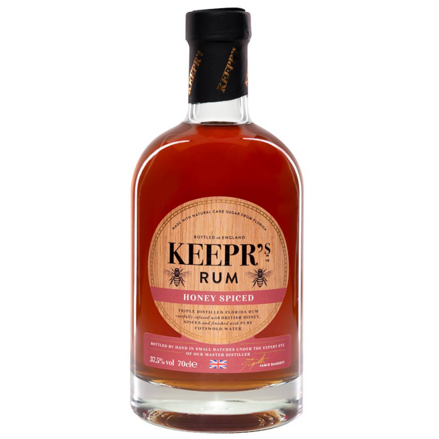 Spiced Rum front
