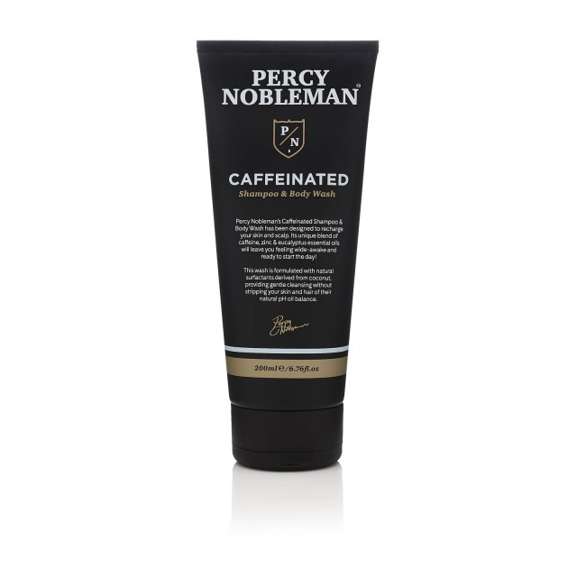 Percy Nobleman Caffeinated Shampoo & Body Wash 200