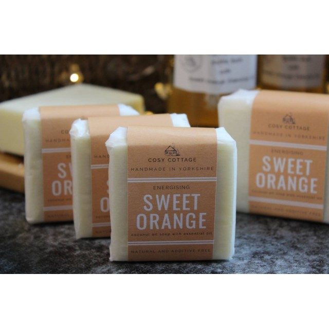 Additive-free Coconut Oil Soap With Sweet Orange E