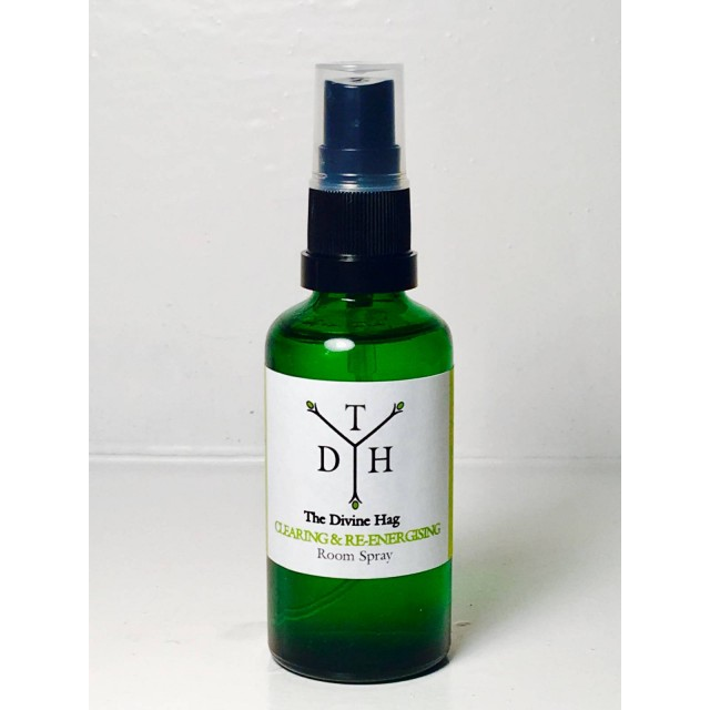 Organic Clearing And Energising Aromatherapy Room Mist 100ml