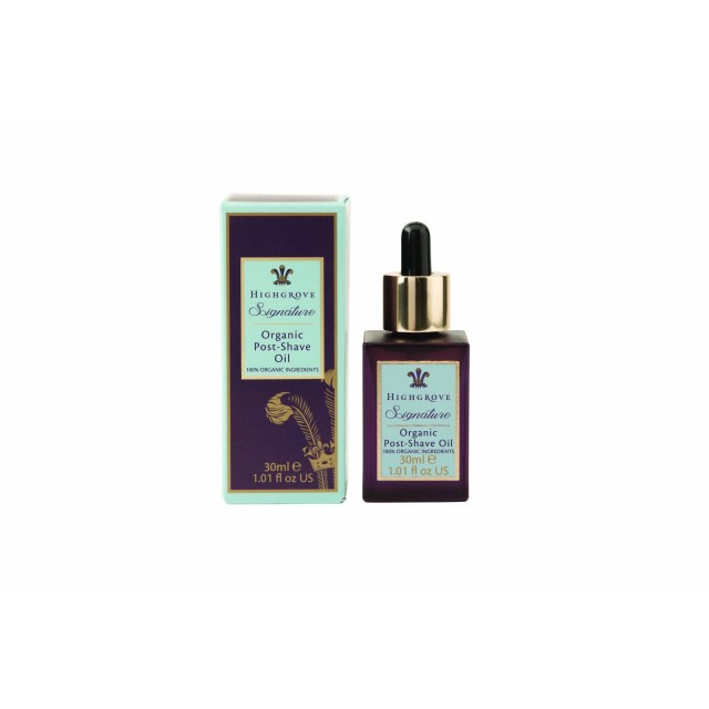 Royal Highgrove Signature Organic Post Shave Oil