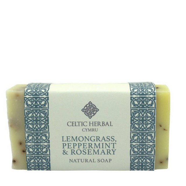 Lemongrass, Peppermint & Rosemary Soap 100g